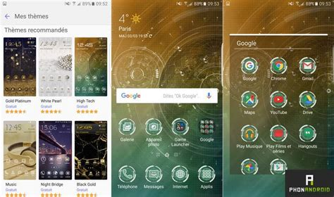 themes galaxy core test samsung galaxy s7 edge le smartphone qui repousse
