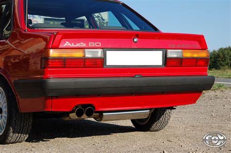 Auspuff Audi 80 by Fox Sportauspuff Audi 80 90 Typ 81 85 Quattro 1600 Ebay