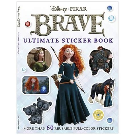brave books disney pixar brave ultimate sticker paperback book dk