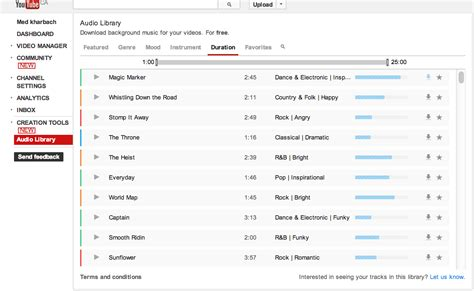 download youtube just audio youtube audio library features tons of free music to use