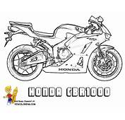 Mighty Motorcycle Coloring Page  Free Dirt