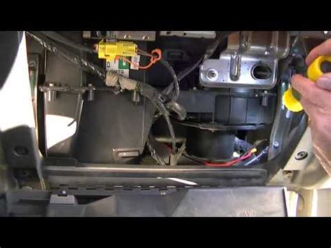 fan speed resistor ford how to install replace heater ac fan speed resistor 99 07 ford f250 f350 duty 1aauto