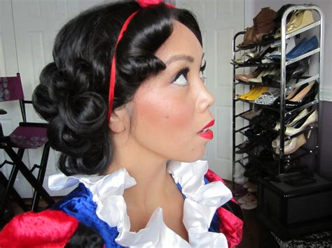 Snow White Hairstyle by It S Judy Time Snow White Hair Tutorial Drugstore