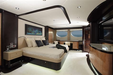 yacht bedroom majesty 125 motor yacht owner s state room yacht charter