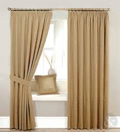 Heavy Curtains Heavy Jacquard Brown Beige Lined Curtain Curtains Uk