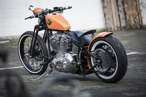 bobberde harley davidson softail custom bikes