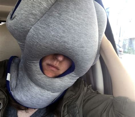 travelling pillow ostrich pillow travel pillow review