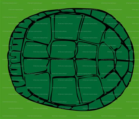 turtle shell template printable