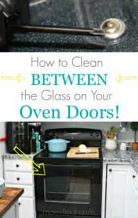 how to clean woodwork in your home cleaning between the glass on your stove door our home