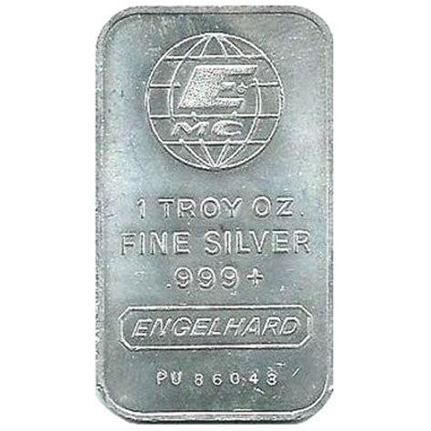 1 oz engelhard silver bar 999 buy vintage 1 oz engelhard silver bars 999 silver