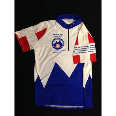 cleveland rescue cleveland mountain rescue cycling jersey clothing from westbrook cycles uk
