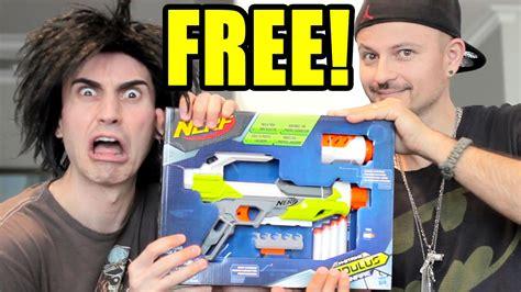Free Nerf Guns Giveaway - nerf gun giveaway free nerf gun youtube
