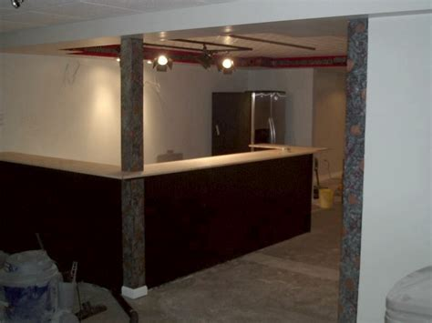 Build A Home Bar Remodeled Basement Bar In St Joseph Michigan 49085