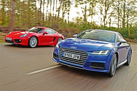 porsche audi used porsche cayman vs audi tts used vs car test