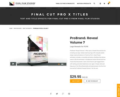 final cut pro unsupported volume type pixel film studios set to release probrand reveal volume 7