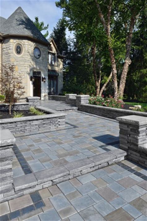 Unilock Richcliff Front Entrance By Unilock With Richcliff Paver Photos