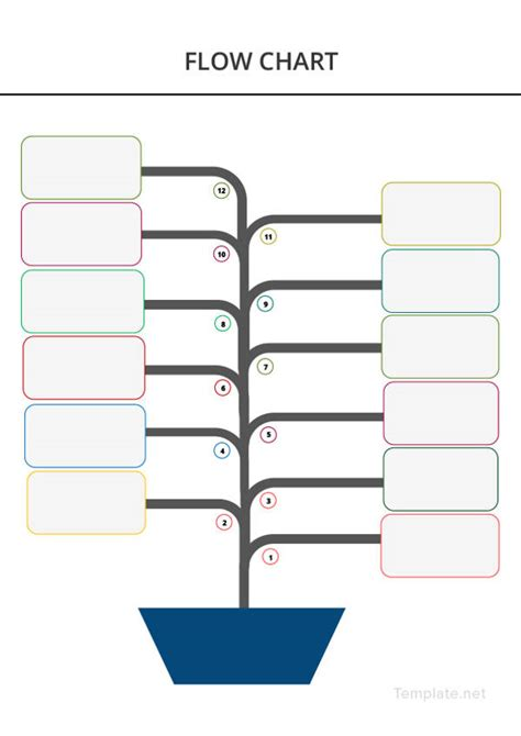 flow chart template   word excel