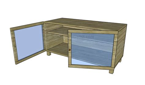 building a tv stand plans 187 woodworktips