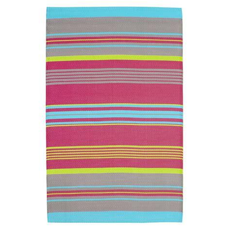 tappeti a righe tappeto multicolore a righe da esterno in polipropilene