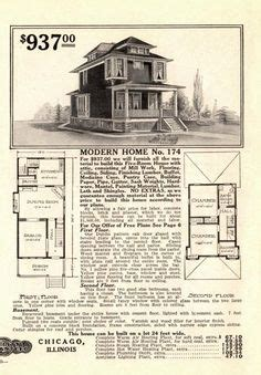 1000 Images About 12 Hipped Roof 2 Or More Stories On 1913 American Foursquare House Plans