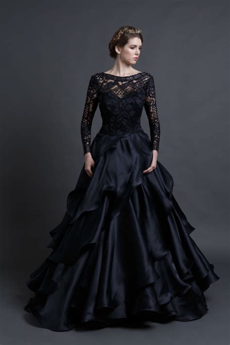 Dress Hitam Second black wedding dresses review of mona wedding gown by