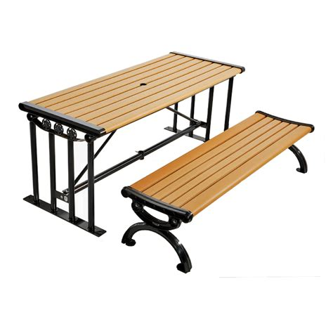 long table with bench long picnic table with benches cat 027 canaan