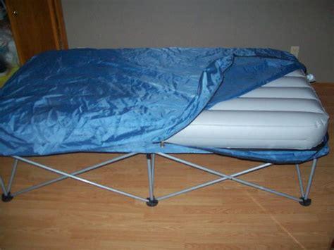 folding air mattress bed  stand east regina regina