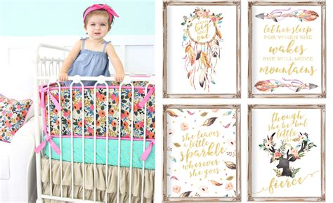 boho baby bedding it s all about the boho baby project nursery