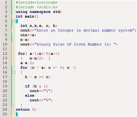 javascript pattern decimal find the binary value of decimal number in c c