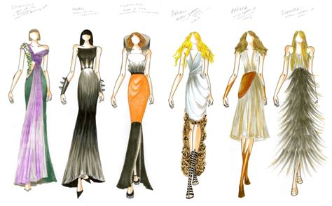 fashion design portfolio sles pdf fashion illustration portfolio pdf