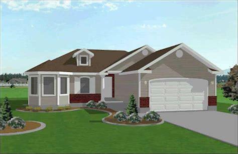 small contemporary ranch house plans home design edc