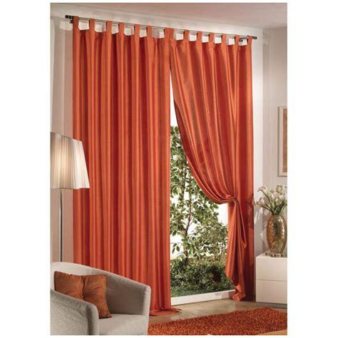 tende arredo casa tenda shantung 140x290 arancio mondobrico arredo casa