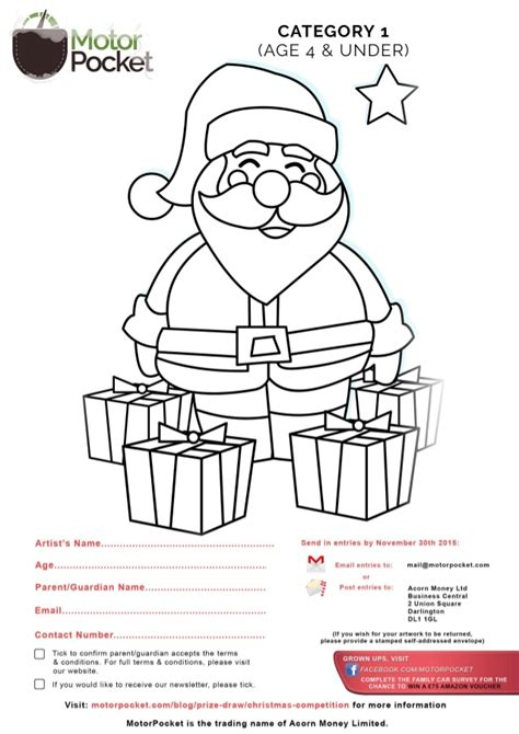 Drawing Contests For Kids To Win Money - christmas children drawing and colouring competition