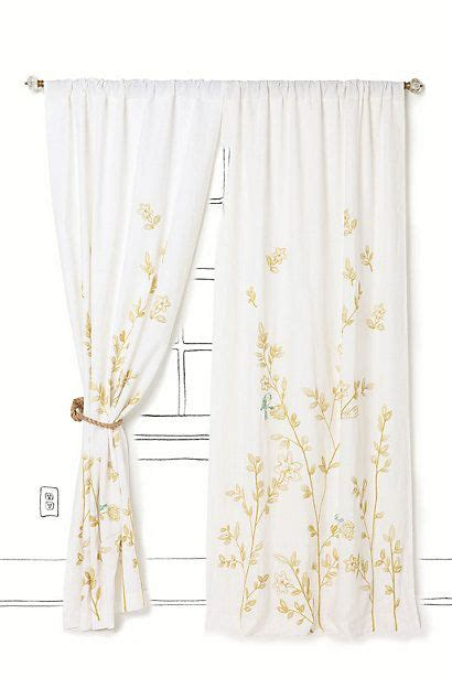 7 Gorgeous Curtains From Anthropologie by Curtains Anthropologie And Birds On
