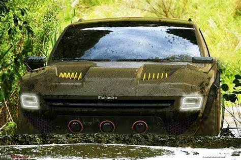 indian car mahindra the mahindra komodo concept suv team bhp