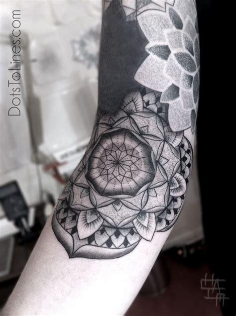 mandala tattoo artist by chaim machlev dots to lines tattoos tattoos
