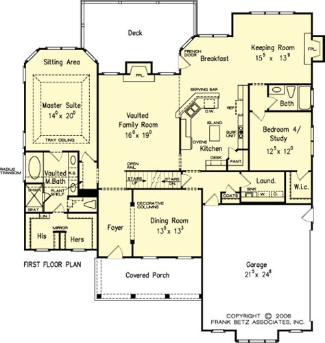 the park house plans floor plan house plans