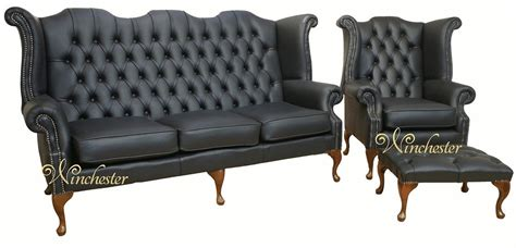 chesterfield high back sofa chesterfield 3 seater queen anne high back wing chair uk