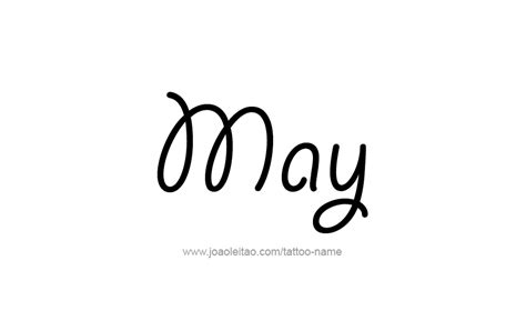 may month name tattoo designs page 2 of 5 tattoos with