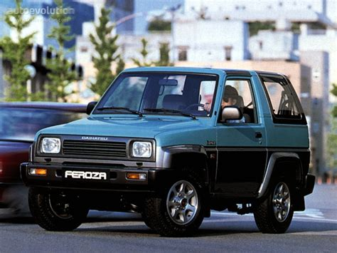 daihatsu feroza specifications daihatsu feroza technical specifications and fuel economy