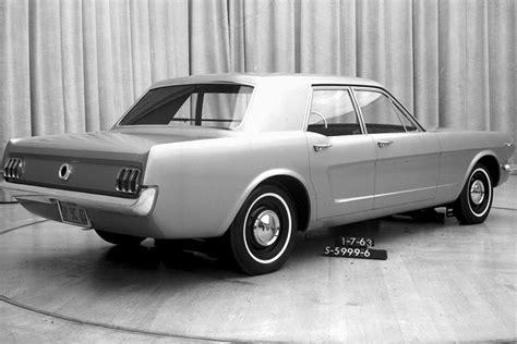2015 4 Door Mustang by 2015 Mustang Gets 4 Doors In Rendering Stangtv