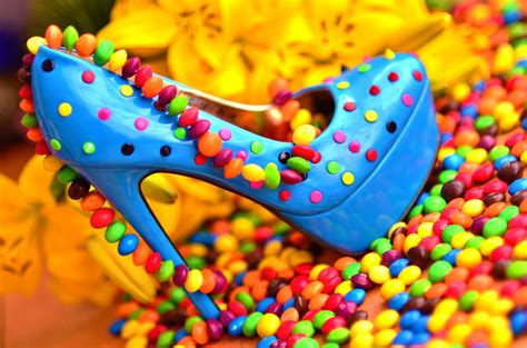 still more candies to get blue shoes by photobysavannah on deviantart