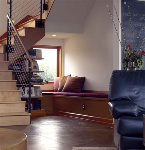 sofa under stairs 20 creative ideas to use the space under your stairs
