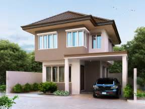 cheap 2 story houses two beautiful contemporary house plan amazing
