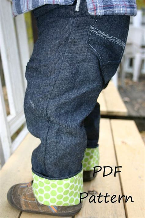 pattern for baby jeans beanstalk britches os cloth diaper jeans pdf pattern