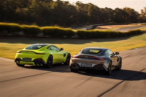 Aston Martin Vantage by The New 2018 Aston Martin Vantage Revealed In Pictures
