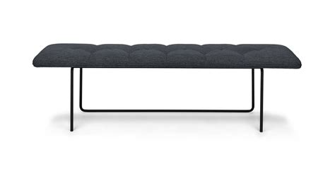 Bench Couches by Horizon Bard Gray Bench Benches Article Modern Mid