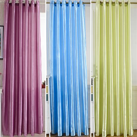 fashion window curtains 2017 fashion solid polyester window shade blackout