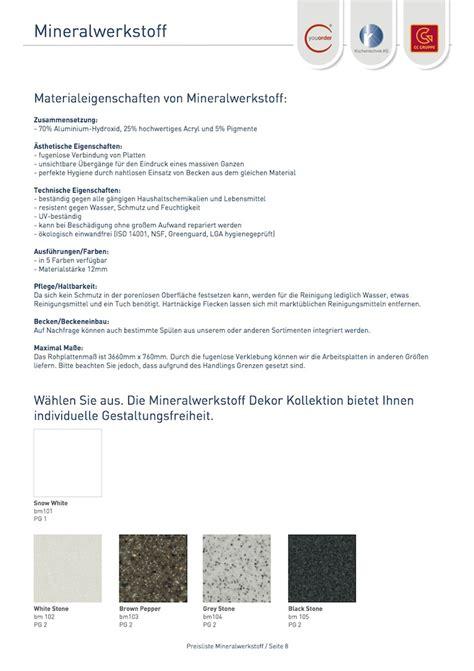 mineralwerkstoff arbeitsplatten mineralwerkstoff arbeitsplatten mineralwerkstoff
