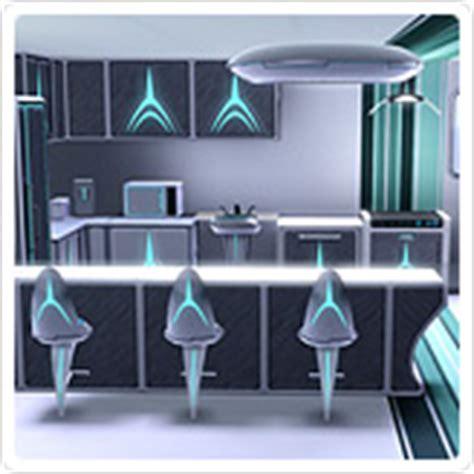 Kitchen Set 164 choc du futur store les sims 3